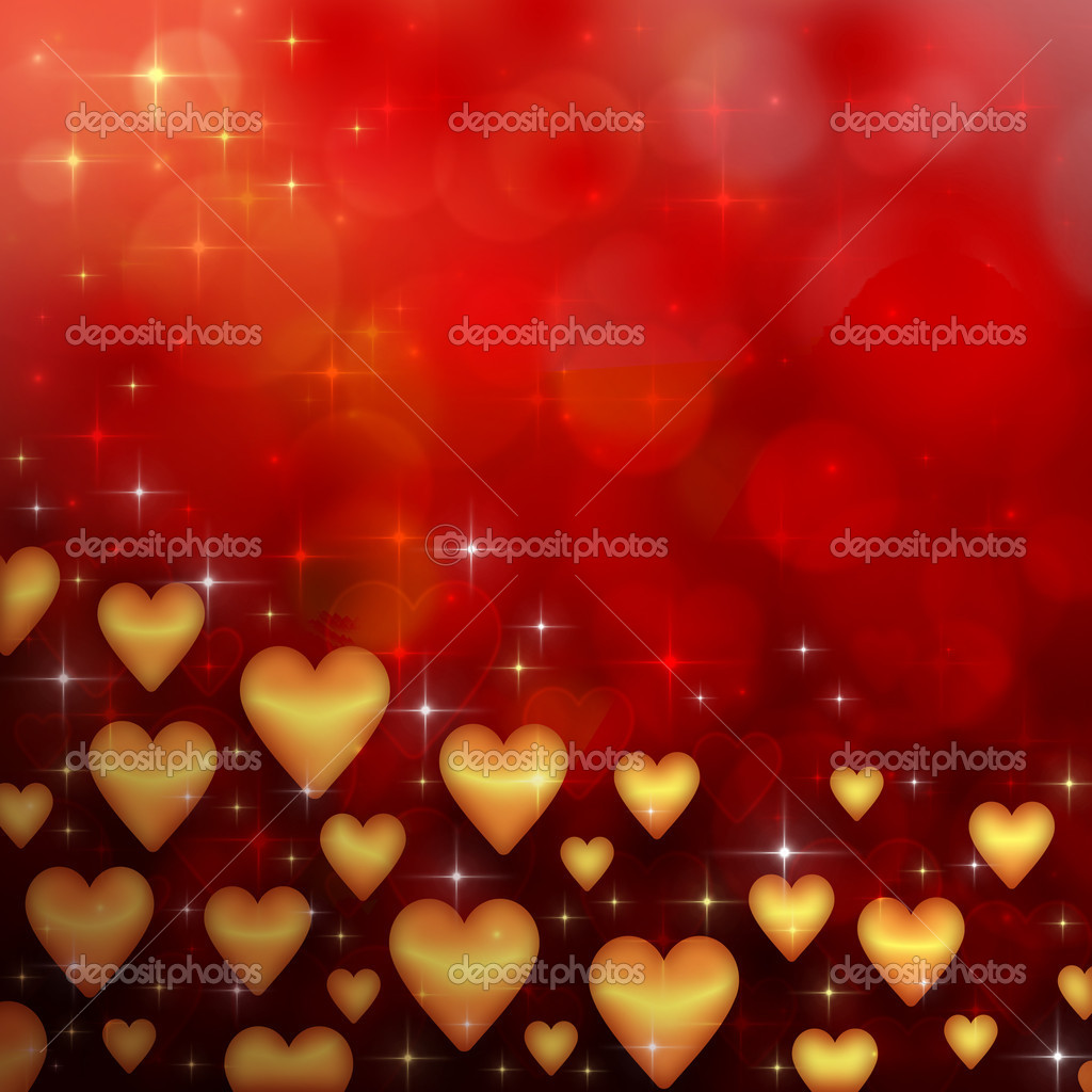 Valentine's day background with many hearts — Stok fotoğraf #17010207