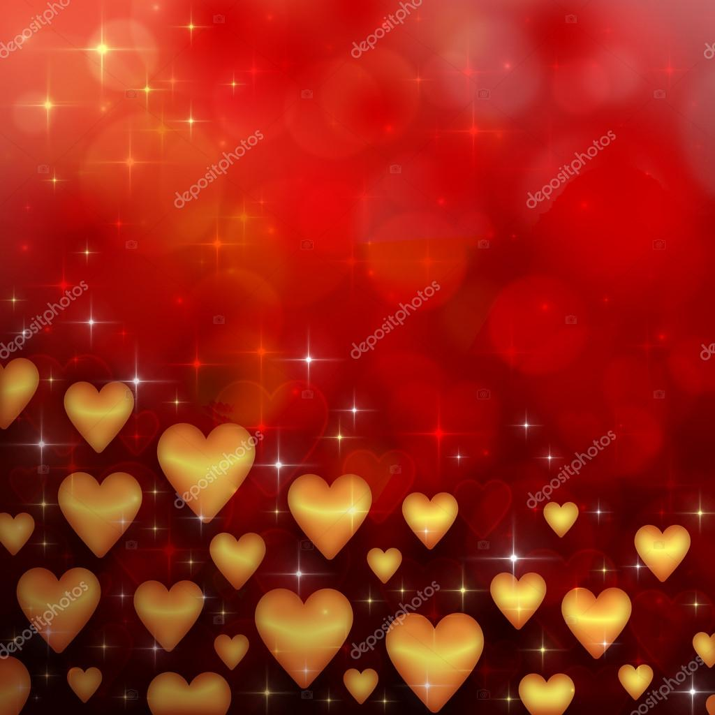 Valentine's day background with many hearts — Stock Photo #17010207