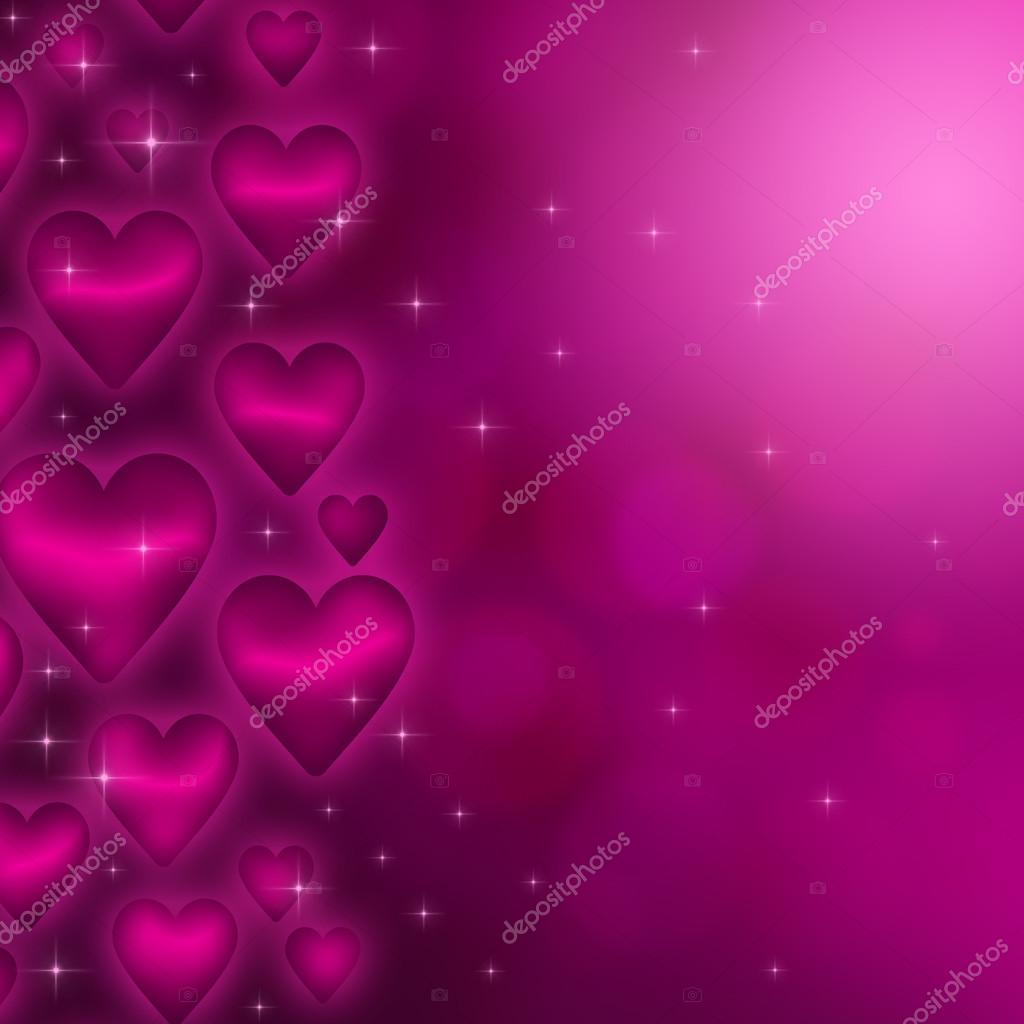 Valentine's day background with many pink hearts — Stock Photo #17130391