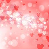 Beautiful light background to the Valentine — Stock Photo