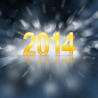 New 2014 year — Stock Photo