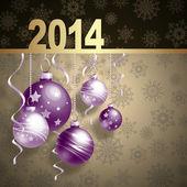 Cartão de ano novo — Fotografia Stock