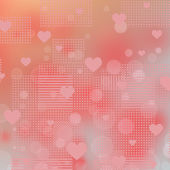Background to the Valentine's day — Stock Photo