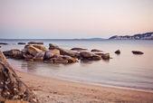 Sea and rocks — Stock Photo
