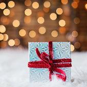 A christmas gift — Stock Photo
