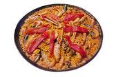 Spanish paella — Stock Photo