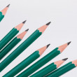 Pencils in perspective — Stock Photo
