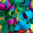 Royalty-Free Stock Photo: Paper confetti colorful background