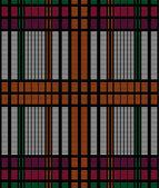 Motivo geometrico senza soluzione di continuità con cella rettangolo — Vettoriale Stock