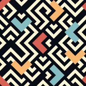 Seamless  geometric pattern background — Stockvektor