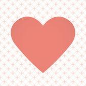 Heart illustration for Valentine's Day — ストックベクタ
