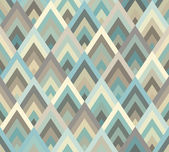 Seamless geometric rhombus triangle pattern background — Stockvektor