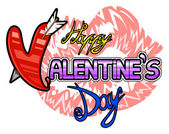 Happy Valentine Day — Stock Vector