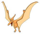 Pteranodon for children — Stockvektor