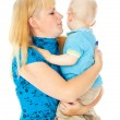Mother holds a child — Stock Photo #18009351