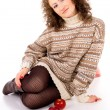 Comfort curly girl - Foto Stock