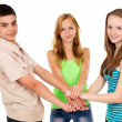 A group of young people — Stock Photo