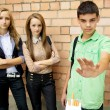 Youth Against Smoking — Stock Photo #33513629