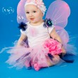 Stock Photo: Baby in costume fairies