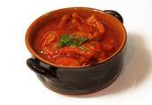 Kutteln und Tomaten — Stockfoto