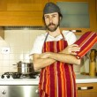 Stock Photo: Chef