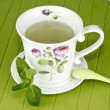 Stock Photo: Mint infusion