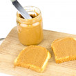 Stock Photo: Peanut butter
