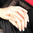 Stock Photo: womans hand