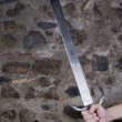 Stock Photo: Sword