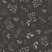 Floral branch seamless pattern — Stock Vector