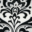 Black Damask Pattern — Stock Photo