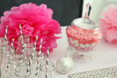 Baby shower decorations — Stock Photo