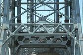 梁と橋の上のフレーミング構造 — ストック写真