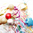 Stock Photo: Christmas color decorations.