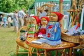 Bright nylon dolls. — Stock Photo
