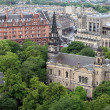 Edinburgh. View from above. — Stock Photo