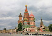 St. Basil's Cathedral in Moscow. — Stock Photo