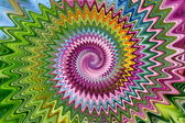Multicolored spiral — Stock Photo