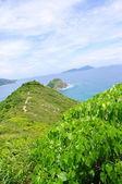 Island of Hongkong's seaside — Stock Photo