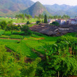 Stock Photo: Beautiful village of southwest chinese pro Guangdong
