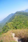 Viewing the nailing ridge of china at summer — Stock Photo
