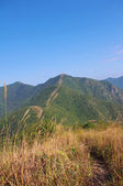 Viewing the nailing ridge of china at summer — 图库照片
