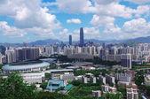 Południe chińskiego miasta shenzhen — Zdjęcie stockowe