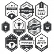 Premium Vector Badge and Modern Label Collection — Stock Vector