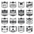 Stock Vector: Modern Vector Badge Shields and Label Collection