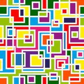 Abstract mosaic seamless pattern — Stock Vector