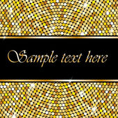 Golden background with space for your text — 图库矢量图片