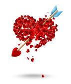 Valentine's day illustration — Stock Photo