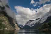 Fjord. Norway, Scandinavia — Stock Photo