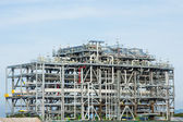 LNG Refinery Factory - Stock Image — Stock Photo